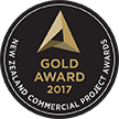 NZ Commercial Project Awards 2017 - Gold in Retail
