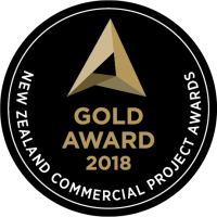 NZ Commercial Project Awards 2018 - Gold in Retail