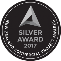 NZ Commercial Project Awards 2017 - Sliver in Comm