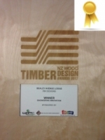 NZ Timber Awards - Bealey Lodge 2017