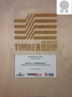 NZ Timber Awards Springfield Rd 2017